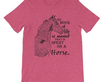 Horse t-shirt, foal, horse quote