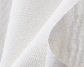 12oz White Duck Cloth | 60"