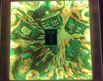 Doctor Who Tardis Inspired Funko Pocket Pop! Frame