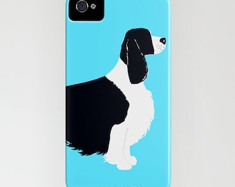 Springer Spaniel Dog on Phone Case - iPhone 6S, iPhone 6 Plus, Gifts for Pet Lovers, Samsung Galaxy S7, Dog Gifts, iPhone 8