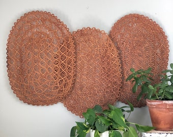 Woven Set of 3 Placemats