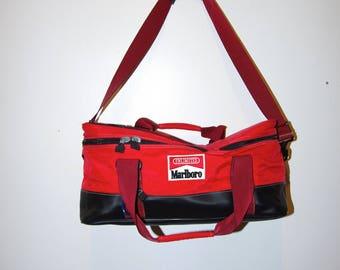 90's MARLBORO RED BACKPACK duffle bag