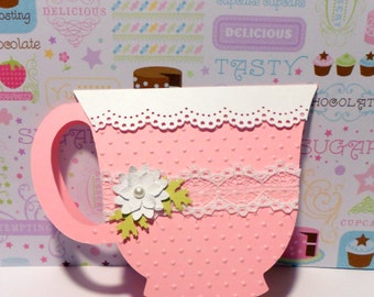 Teacup Invitation - Set of 5