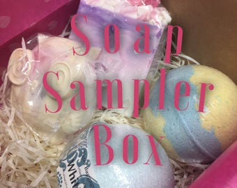 Scented Soap / Sample Boxes / Sample Boxes by Mail / Box of Samples / Wholesale Soap Boxes / Scented Soaps / Scented Soap Bar