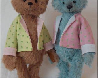 Poppet Miniature Teddy Bear E-pattern