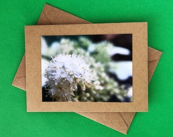 Handmade note card - greeting card - blank card - thank you card - just because card