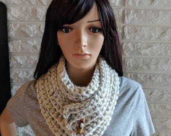 Clearance women's oatmeal scarf, women's accessories, gifts for her, fall, winter and spring fashion