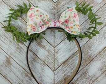 Te'fiti Minnie Ears, Moana Ears, spring Minnie Ears, Flower & Garden Ears, earth day ears