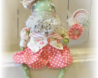 Franklin the Frog doll  ePattern tutorial
