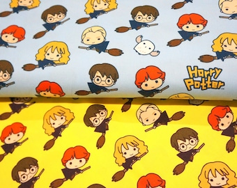 Harry Potter Character Japanese  Fabric 50 cm by  106  cm or 19.6  by  42 inches