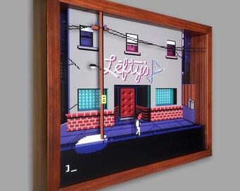 Leisure Suit Larry Shadowbox Art
