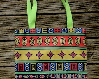 Tote bag printed HANDMADE ethnic