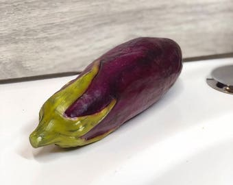 Eggplant soap
