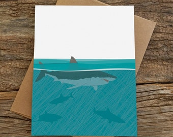 blank card set / sharks