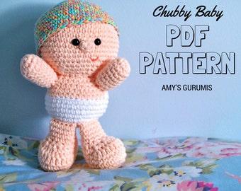 Amigurumi Pattern Chubby Baby