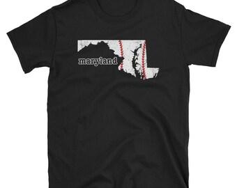 Maryland Mom Baseball Apparel Softball Moms Shirt