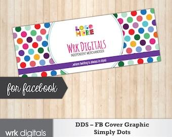 Dot Dot Smile Facebook Cover Photo, Fashion Consultant, Simply Dots Design