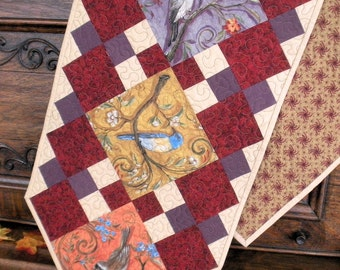 Quilted Table Runner Pattern  from GloryQuilts  digital download with free limited license