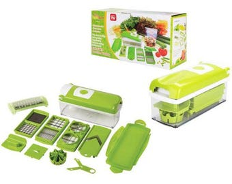 As seen on tv one  step precision  cutting nicer dicer plus (mallx 01)