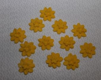 Edible spring daffodils suit cakes, cupcakes, biscuits