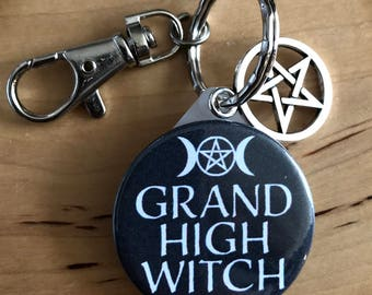Witch Grand High Witch Keyring