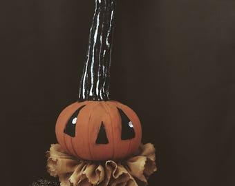 Mini Pumpkin Lady Poppet Protector