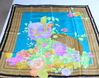 LEONARD silk scarf