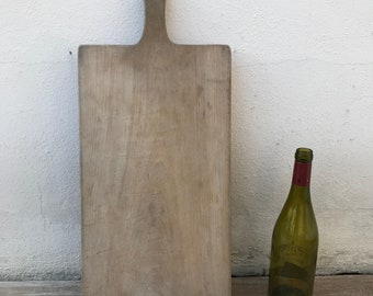 ANTIQUE VINTAGE FRENCH bread or chopping cutting board wood 22031813