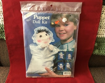 1984 McNeill Puppet Doll Kit NEW Complete Baby Bonnie No. 6115