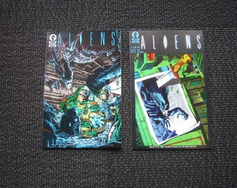 Aliens #1 and #2 - 1990 1st series