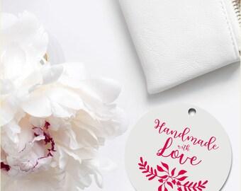 Label, Custom for Handmade Business, Crafters, Artisan Item, Handmade Branding, for Entrepreneurs, for Business, for Crafts