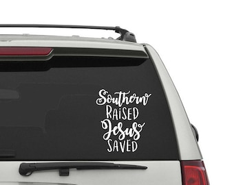 Southern Car Decal / Car Decal / iPray / Car Sticker / Bible Decal / Jesus Decal / God Decal / Jesus Car Sticker / Bible Sticker / Bible
