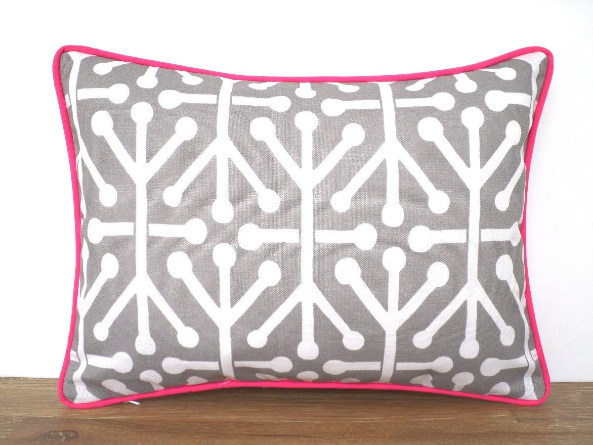 and white the pillow black products ceniza lumbar geometric citizenry pillows gray