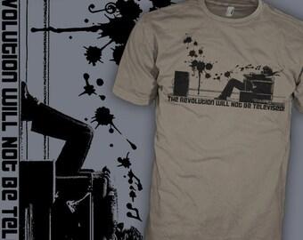 Gil Scott Heron Shirt - The Revolution Will Not Be Televised - Maxell Man Funk T-Shirt