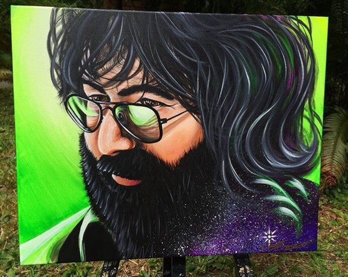 Jerry Garcia Dark Star . Prints . 2016