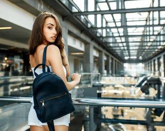 Women's backpack «Limbo»/ City backpack, Leather backpack, Women leather backpack, Laptop backpack, Travel backpack, Handmade backpack, Gift