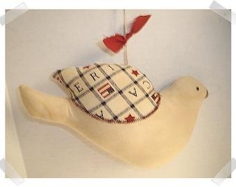 Dove Ornament/ Home Decor/ Handmade*