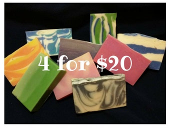 4 for Twenty! Choose Your Own Soap Bundle