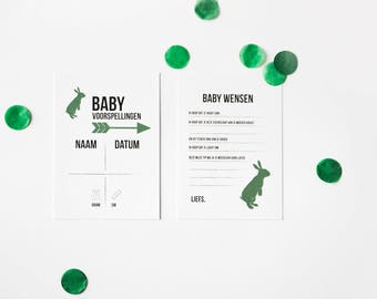Baby Shower Fill cards, greeting cards baby coming to give gift