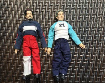 NSYNC Justin Timberlake and Joey Fatone collectible marionette dolls boy band