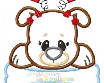 Valentine Puppy Machine Embroidery Design