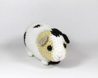 OOAK guinea pig amigurumi