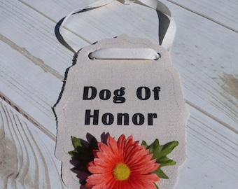 Dog of honor, Pet Wedding, Wedding Dog Bandana, Dog wedding bandana, Dog bandana, Dog wedding accessory, Pet wedding bandana, Dog Bandana