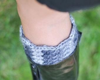 Boot Cuff Crochet Pattern Legwarmer Sock