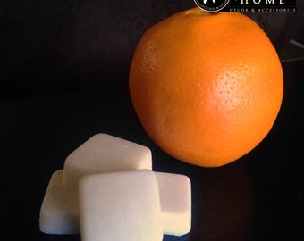 Orange Scented Soy Wax Melts - 4 Individually Wrapped Pieces