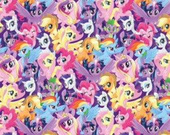 My Little Pony by Springs Creative  New Print