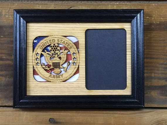 5x7 US Army Picture Frame, US Army Veteran Gift, Army Wall Decor ...