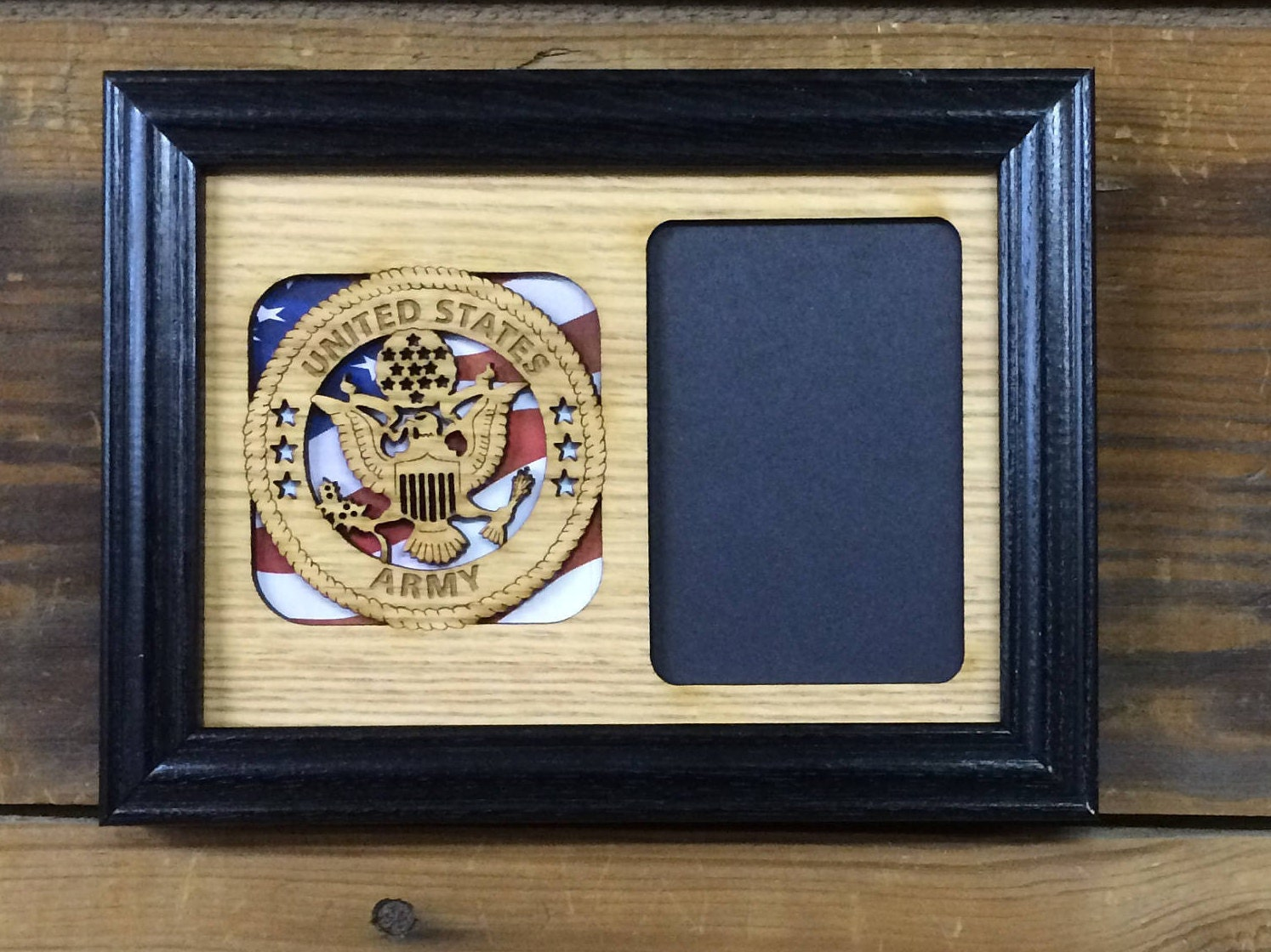 5 x 7 US Armee Rahmen US Army Veteran Geschenk