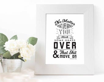 No Matter What Quote Printable