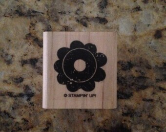 Stampin Up Mini Flower Stamp